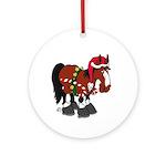 Don't Ask Horse Ornament