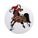 Horse with Jingle Bells