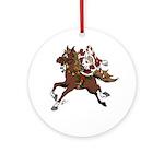 Santa Clause on Horse
