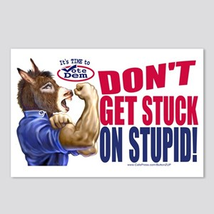 SDon't Get Stuck on Stupid Postcards (Package of 8