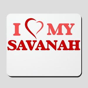 I love my Savanah Mousepad