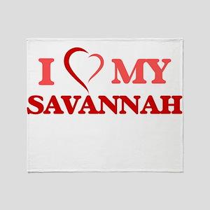 I love my Savannah Throw Blanket