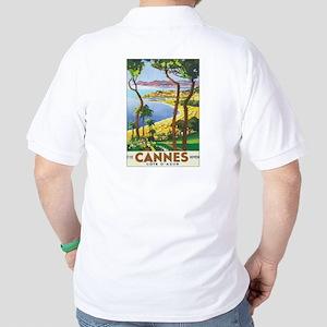 Cannes France Golf Shirt