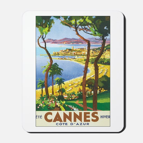 Cannes France Mousepad