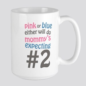 Mommy's Expecting #2 Large Mug