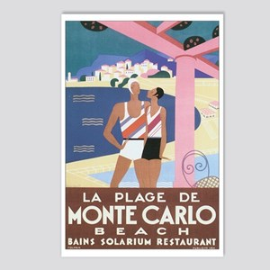 Monte Carlo Monaco Postcards (Package of 8)