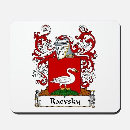 Raevsky Family Crest Mousepad
