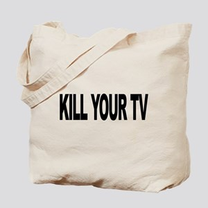 Kill Your TV (L) Tote Bag