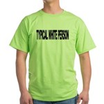 Typical White Person (L) Green T-Shirt