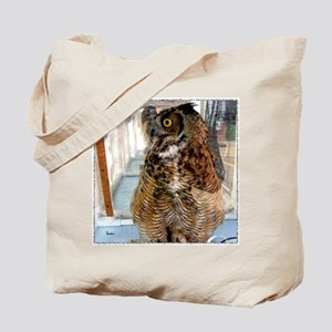 Pax, Great Horned Owl Tote Bag