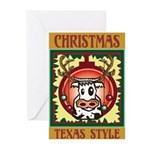 Texas Style Christmas Cards (Pk of 20)