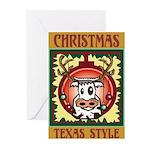 Texas Style Christmas Cards (Pk of 10)