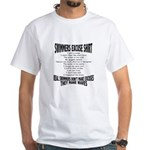 Swimmers Excuse Shirt White T-Shirt