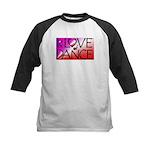 For the LOVE of DANCE Kids Baseball Jersey
