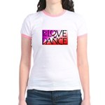 For the LOVE of DANCE Jr. Ringer T-Shirt