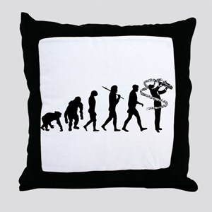 Saxophone Player Throw Pillow