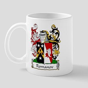 Romanov Family Crest Mug
