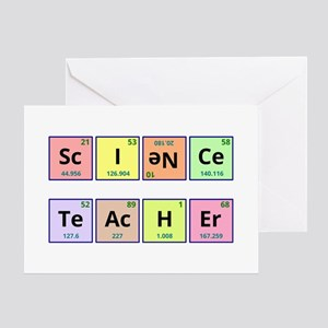 Science Teacher Greeting Cards