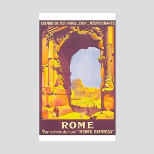 Rome Italy Rectangle Sticker