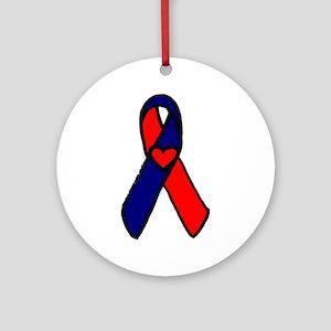 CHD Awareness Ribbon Keepsake (Round)