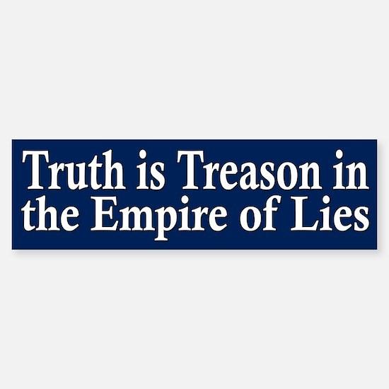 Truth is Treason