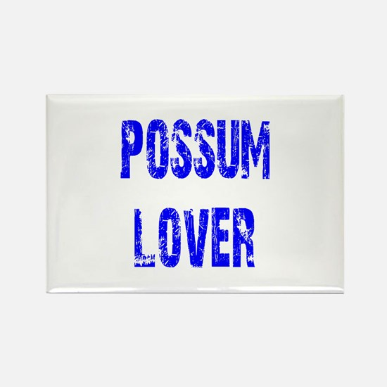 Possum Lover Rectangle Magnet