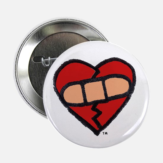 """""""Mended Heart"""" 2.25"""" Button (10 pack)"""