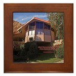Elvis Honeymoon Hideaway Framed Tile