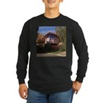 Elvis Honeymoon Hideaway Long Sleeve Dark T-Shirt