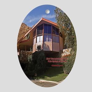 Elvis Honeymoon Hideaway Oval Ornament