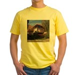 Elvis Honeymoon Hideaway Yellow T-Shirt