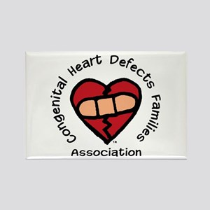 """CHD Families Assn."" Rectangle Magnet"