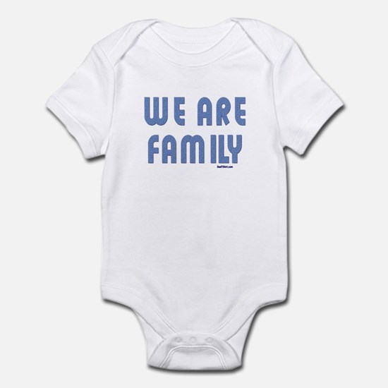 We Are Family Matching Infant Bodysuit