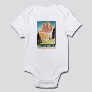 Dolomites Italy Infant Bodysuit
