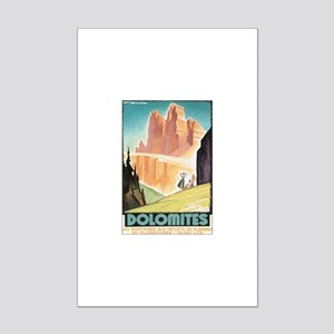 Dolomites Italy Mini Poster Print