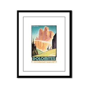 Dolomites Italy Framed Panel Print