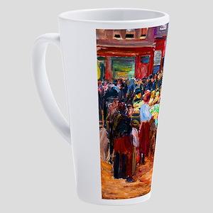 Max Liebermann Street in Amsterdam 17 oz Latte Mug