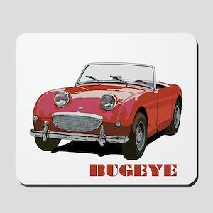 Red Bugeye Mousepad