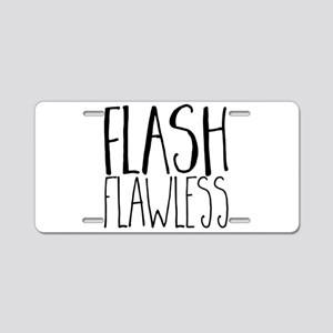 Flash Flawless Aluminum License Plate