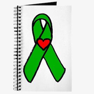 """Heart transplant ribbon..."" Journal"
