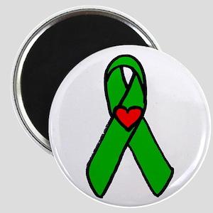 """Heart transplant ribbon..."" Magnet"