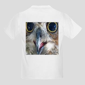 Great Horned Owl Eyes Kids T-Shirt