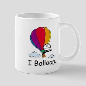 Hot Air Ballooning Stick Figure Mug
