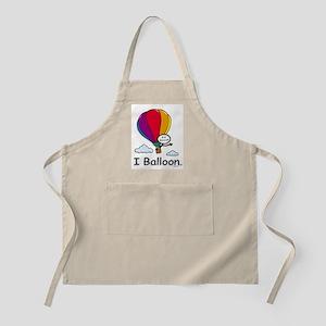 Hot Air Ballooning Stick Figure Light Apron