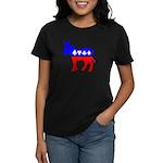 Obama Poker Women's Dark T-Shirt