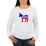 Obama Poker Women's Long Sleeve T-Shirt
