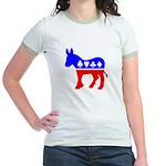 Obama Poker Jr. Ringer T-Shirt