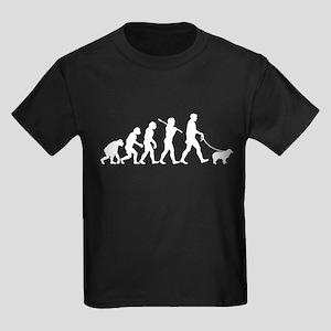 Miniature Australian Shepherd Kids Dark T-Shirt