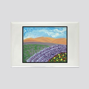 I Dream of Provence Rectangle Magnet