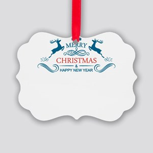 Christmas gear tees Picture Ornament